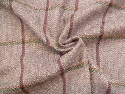 Country Tweed Shadow Windowpane Check Fabric AZ92